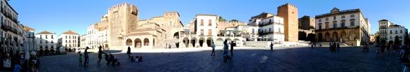 Plaza Mayor de Cáceres. Autor @pacohurtadosan